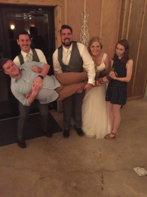 Our friends Ryan & Lizzie are married!