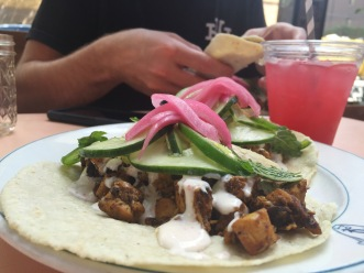 Antique Taco - both of our favorite spot.